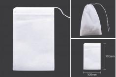 Торбички за чай  100х150 мм - 100 бр