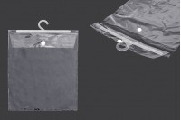 Найлонови торбички 22х31 см със закачалка - 50 бр.