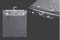 Найлонови торбички 26х32 см със закачалка - 25 бр.