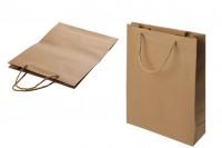 Хартиена подаръчна торбичка с размер  280x100x370 мм - 12 бр