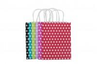 Хартиени шарени  торбички   210x110x270 mm