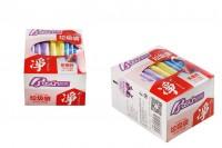Пластмасови торбички с размер  45x55 см  в различни цветове - пакет от 72 бр