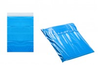 Водоустойчиви куриерски транспортни торбички 280х420 мм сини със самозалепващо се затваряне - 100 бр