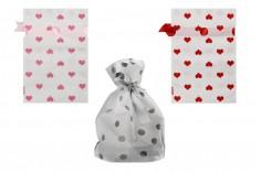 Пластмасови торбички за бонбони, сладкиши или бисквитки 120х170 - 50 бр
