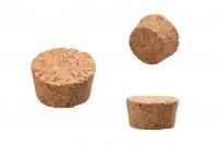 Естествен конусовиден корк с размери 14,2х28 / 24 мм