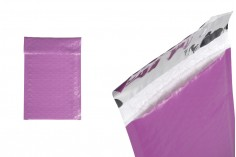 Лилави пликове с мехурчера с размер 10х18 см  - 10 бр.