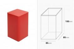 Квадратна метална кутия за съхраняване с размери 85x85x150 в различни цветове
