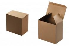 Хартиена крафт кутия с размери 133х79х130 мм - 20 бр