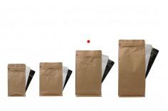 """Tорбички тип Doy Pack  с вентил и с  """"цип"""" затваряне  и  термнозапечатване с размери 135x80x225 mm- 25 бр (НЕ МОЖЕ ДА СЕ ЗАПЕЧАТА РЪЧНО)."""