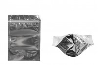 Опаковак Doy Pack с размери 120x40x170 mm с цип затваряне, алуминиева задна част и прозрачна предна част -100 бр.