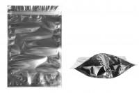 Опаковка тип  Doy Pack с размери 200x50x300 mm с цип затваряне, с предна прорзанча част и с алуминиева задна част - 100 бр.