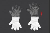 Ръкавици от полиетилен (PE) за еднократна употреба, прозрачни - 100 бр