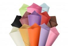 Цветна МАТ хартия с размери 50х70 см  - 25 бр