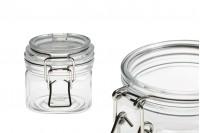 Пластмасов  прозрачен PET буркан  220 ml