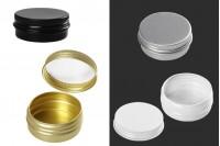 Алуминиеви опаковки 10 мл с  в различни цветове - 12 бр