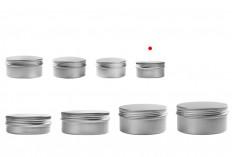 Алуминиеви буркани 5 ml  - 12 бр., в опаковка