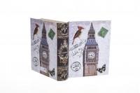 Подаръчна кутия Книга Биг Бен , с размери 170x140x45
